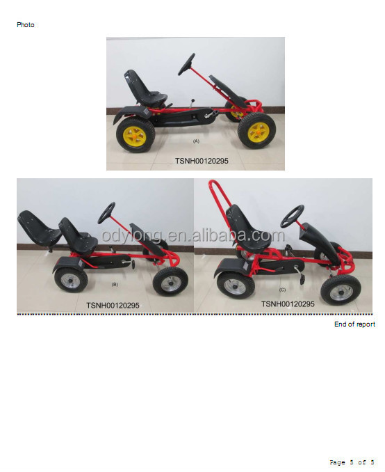 wholesale cheap adult pedal go kart for sale / pedal go kart