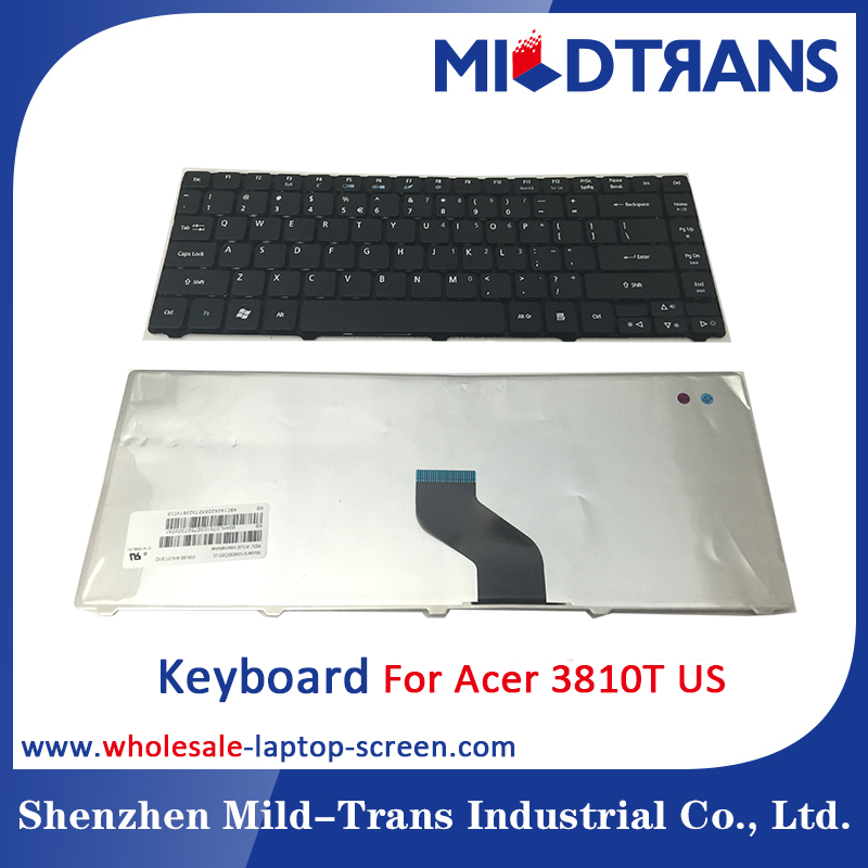 laptop computer keyboard layout for acer 3810T BR