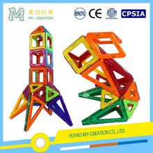 Magnetic Building Shapes Plastic Building Toy DIY Bricks Children Learning Educational Toys
