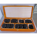 hot basalt massage stones with elliptical shape