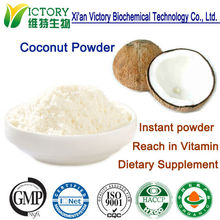 GMP Factory supply water souble instant coconut cream powder