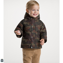 T-BC001 Wholesale Winter Raglan Sleeve Camouflage Printing Boys coat
