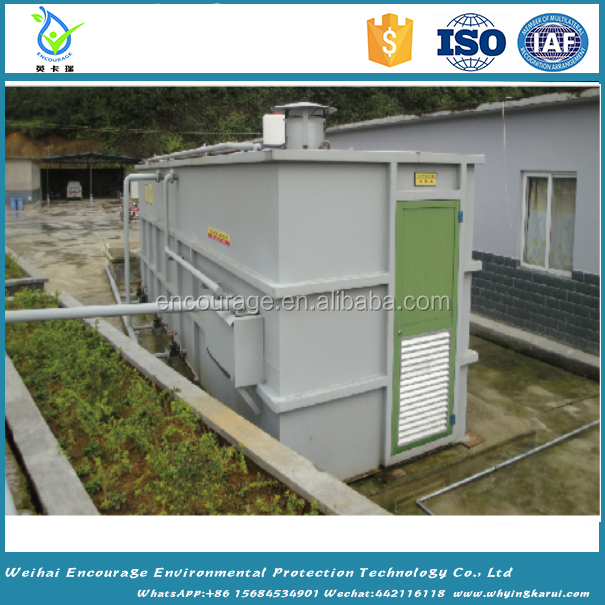 Package/small/portable MBR bioreactor wastewater treatment plant with low price good quality