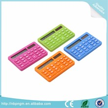 promotional gift handheld calculator mini solar powered calculator