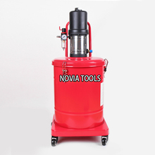 10(5) gallon,40L(20L) movable full set Air operated automatic grease pump/ Lubricator 16QB02