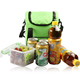 green plain arctic zone quilted lunch bag brands
