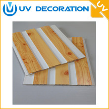 popular easy to install gypsum vinyl fireproof pvc ceiling panels board false ceiling designs