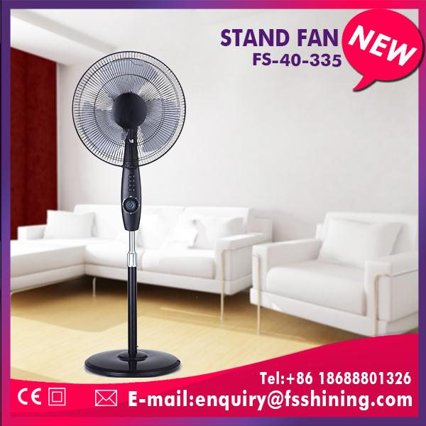 China factory china 220v stand fan table fan with led lamp for wholesales