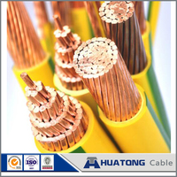 Top Quality copper conductor yellow green ground wire PVC insulation Electrical power cable Wire