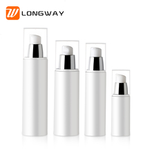 30ml Plastic Empty Fancy White Vacuum PP Airless Pump Bottle for Cosmetic Latex Facial Lotion Packaging