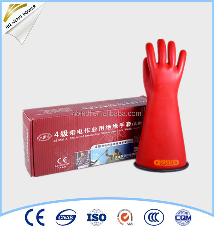 hand insulating gloves for electricity