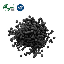 Waste Gas Treatment Granular 3mm Activated Carbon Iodine <strong>1000</strong>