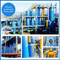 wood chips city argriculture waste biogas electric industrial biomass gasifier for power generation