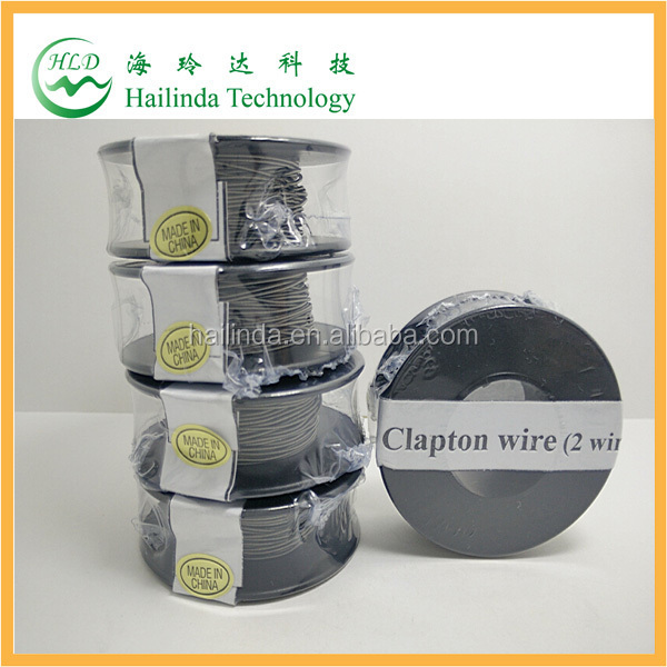 original clapton wire fast heating E cig Clapton vaporizer coil wire