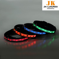 pet led collars dog collars with long life battery led