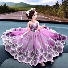 Wholesale Creative Handmade Beauty Girl doll Car Decoration Accessories Statue