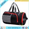 Simple Sport Black Canvas Travel Duffel Bag