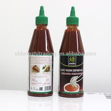 435ml Bottled Packing Sriracha Hot Chili Sauce Brands Manufacturer