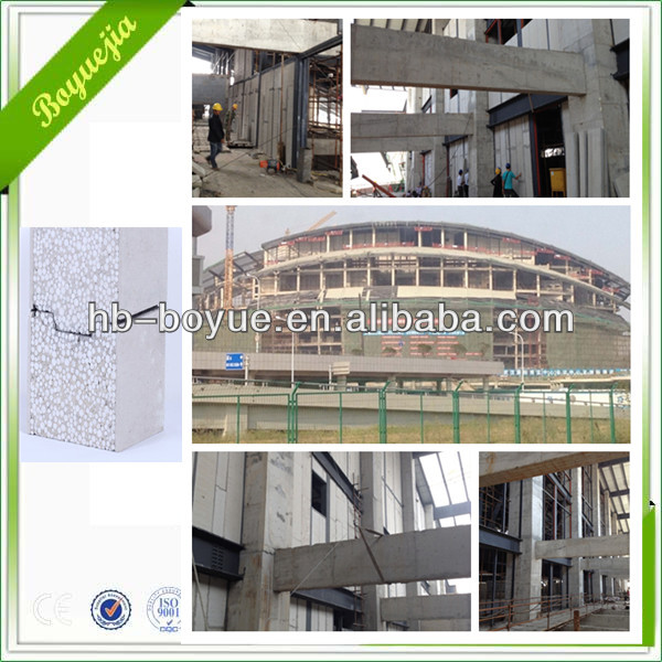 Exterior & Interior EPS foam wall panels 2270mm x 610mm x (50-200)mm hot selling model