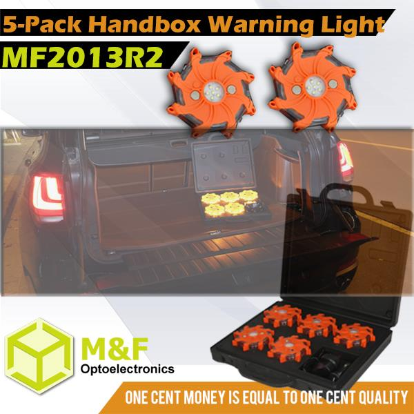 6-pack Hand Box Traffic Safety Products Flashing Road Emergency Flares