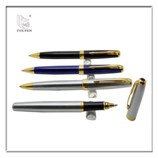 2018 Customized High Quality Metal Ball Pen Set With Black Gift Box For Promotion
