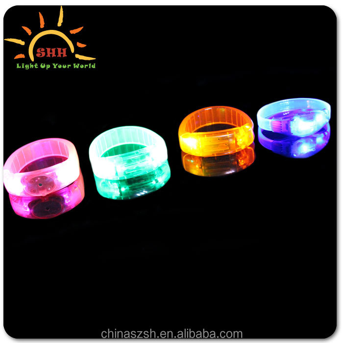 Glowing beautiful LED bracelet control dmx with CPSIA