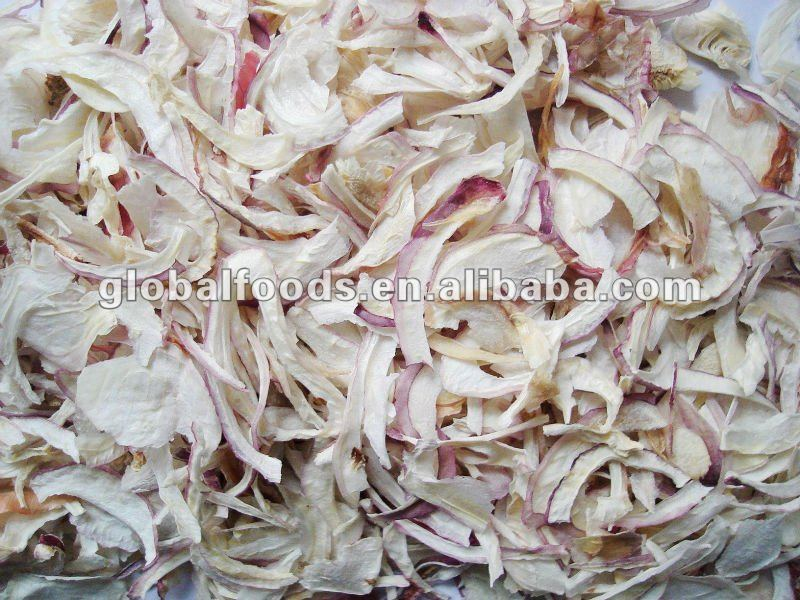 Dehydrated Red Onion Slices/Flakes, 1st grade 2nd grade, dried onion