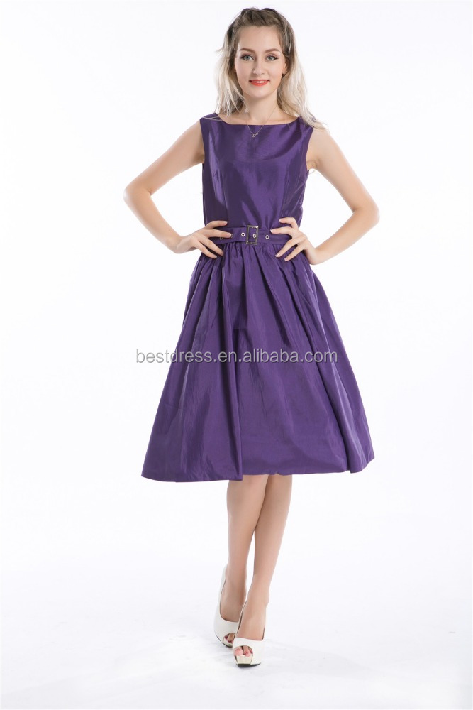 <strong>r1000</strong> purple rockabilly pin-up vintage 50s dress swing party evening dress uk8-24