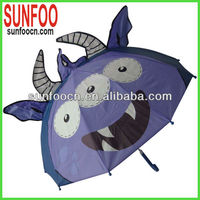 Cartoon cow umbrella for children