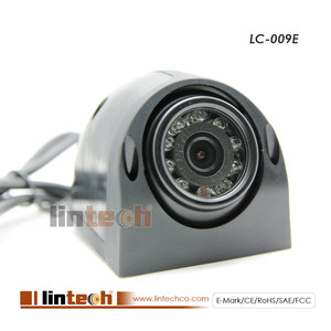 Wide Angle 120 degrees Car Side View Camera for Bus Blind Spot Safety