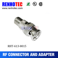 High quality F Female to BNC Male adapter