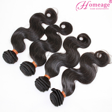 Homeage Perfect Lady indian hair raw unprocessed virgin human indian hair grade 8a