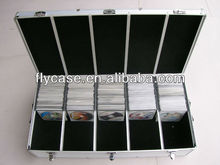 personalized aluminum cd dvd storage case