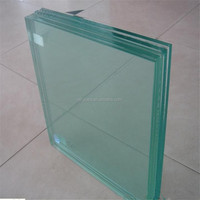 clear tempered float glass