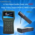 "New design 4.3"" AHD CCTV Camera monitor Digital Satellite Finder 955G+ Support DVB-S/S2,ABS-S,MPEG-4 Signal Test"