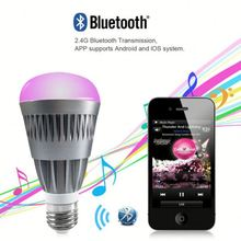 smart phone controlled light,neon light bulb