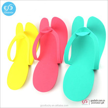 Factory cheap wholesale indoor slipper EVA disposable hotel slipper