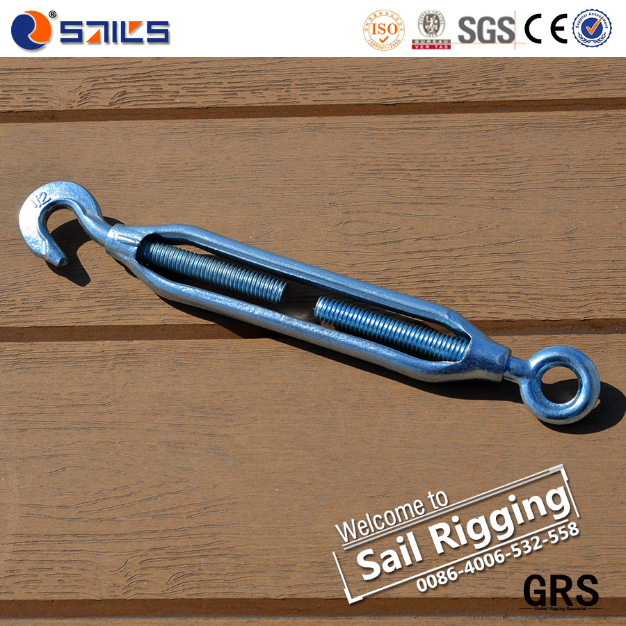 open forging 12mm carbon steel Japanese turnbuckle eye hook
