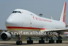 Yiwu air shipment transport cargo to Stockholm---wing
