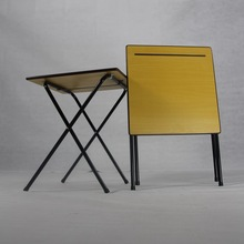 Most Popular Design Folding Exam Table Desk Available To Come With Trolley