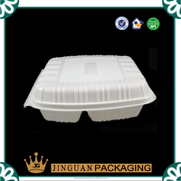 Custom Transparent Clamshell Food Blister Packaging Tray
