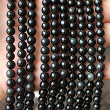black stone beads mexican obsidian, gemstone beads obsidian rock for sale