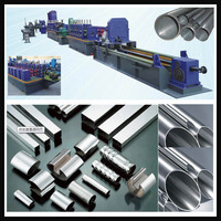 high frequency welder pipe machine high frequency welded galvanized pipe production line spiral HFI welding pipe equipment