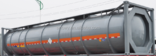 CIMC carbon steel 40ft Bitumen Tank Container
