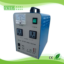 300w protable off-grid solar home lighting system with pure sine wave inverter and high quality solar controller