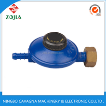 Zinc material adjust top , LPG gas regulator for heater and cooker china supplier ZJ-F01