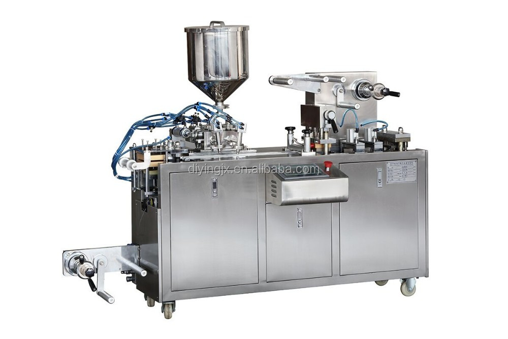 Fruit Paste Alu PVC Automatic Blister Packing Machine Price