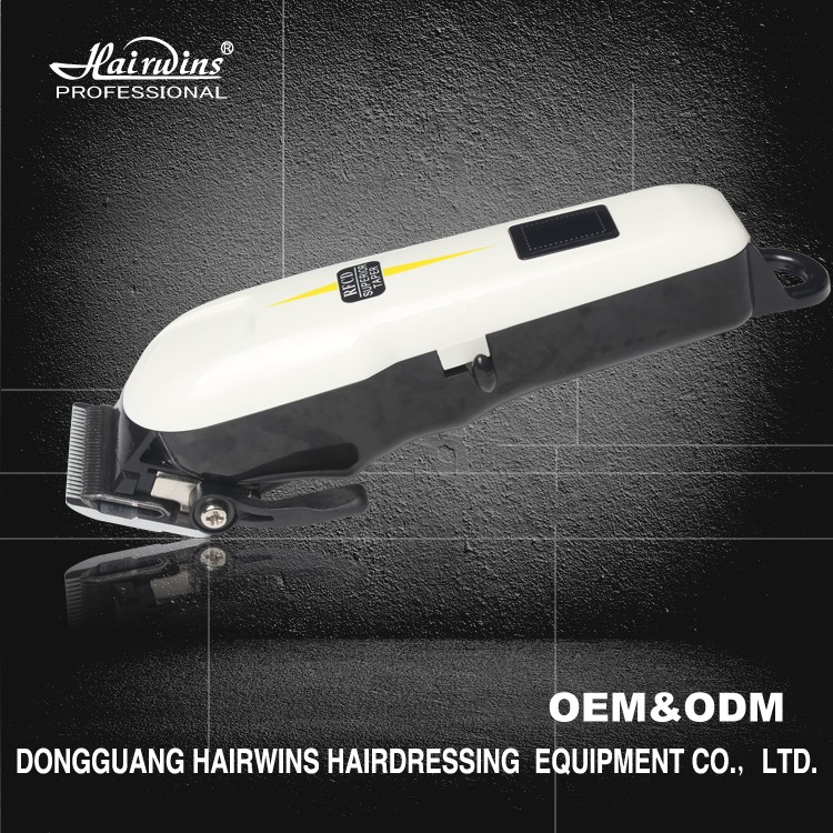 hair cutting machine prices super taper professional hair clipper with High-carbon steel blade