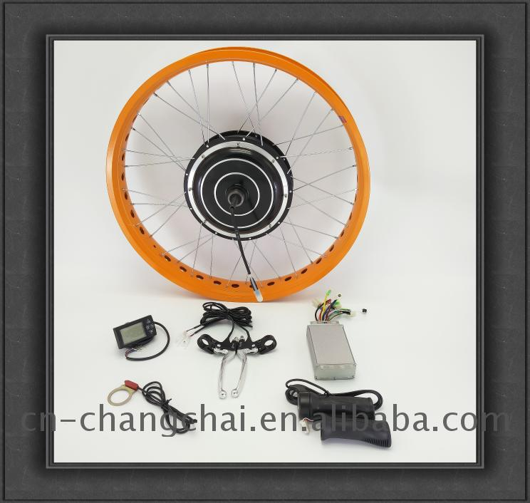 500w waterproof ebike conversion kit with battery
