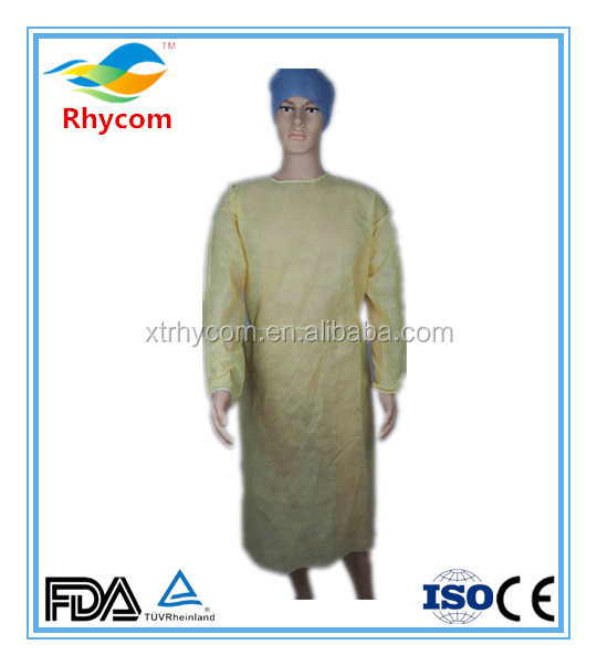 biodegradable disposable surgical gown